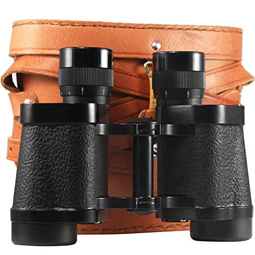 HXZB Jumelles 8x30 Gamme Full Metal Haute définition Night Vision 62-Style Adulte Lunettes Outdoor-Noir,Black