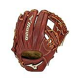 Mizuno GPE1150M Prime Elite Infield Baseball Glove 11.5', Right Hand Throw, MAHOGANY