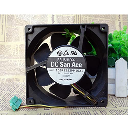 109R1212MH1031 12V 0.48A 4-wire inverter cooling fan