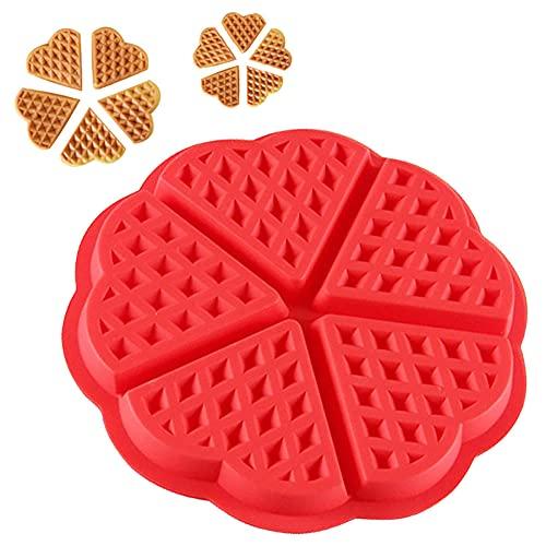 Molde de la torta Molde redondo de silicona Herramienta de molde, waffle de chocolate moldes para hornear moldes muffin sartenes Pan Pan Flan Bakeware, moldes antiadherentes, el horno se puede utiliza