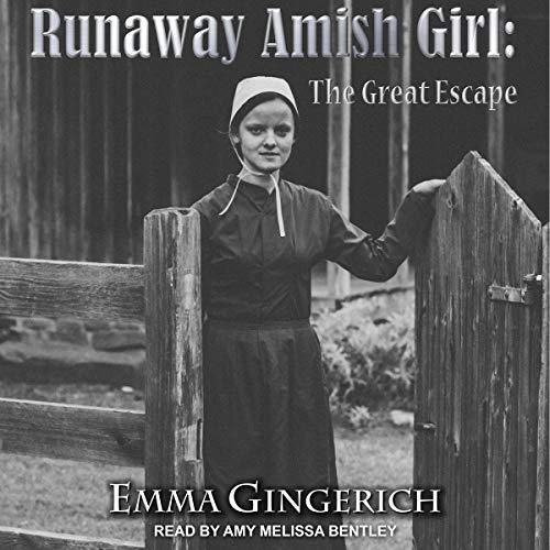 Runaway Amish Girl audiobook cover art