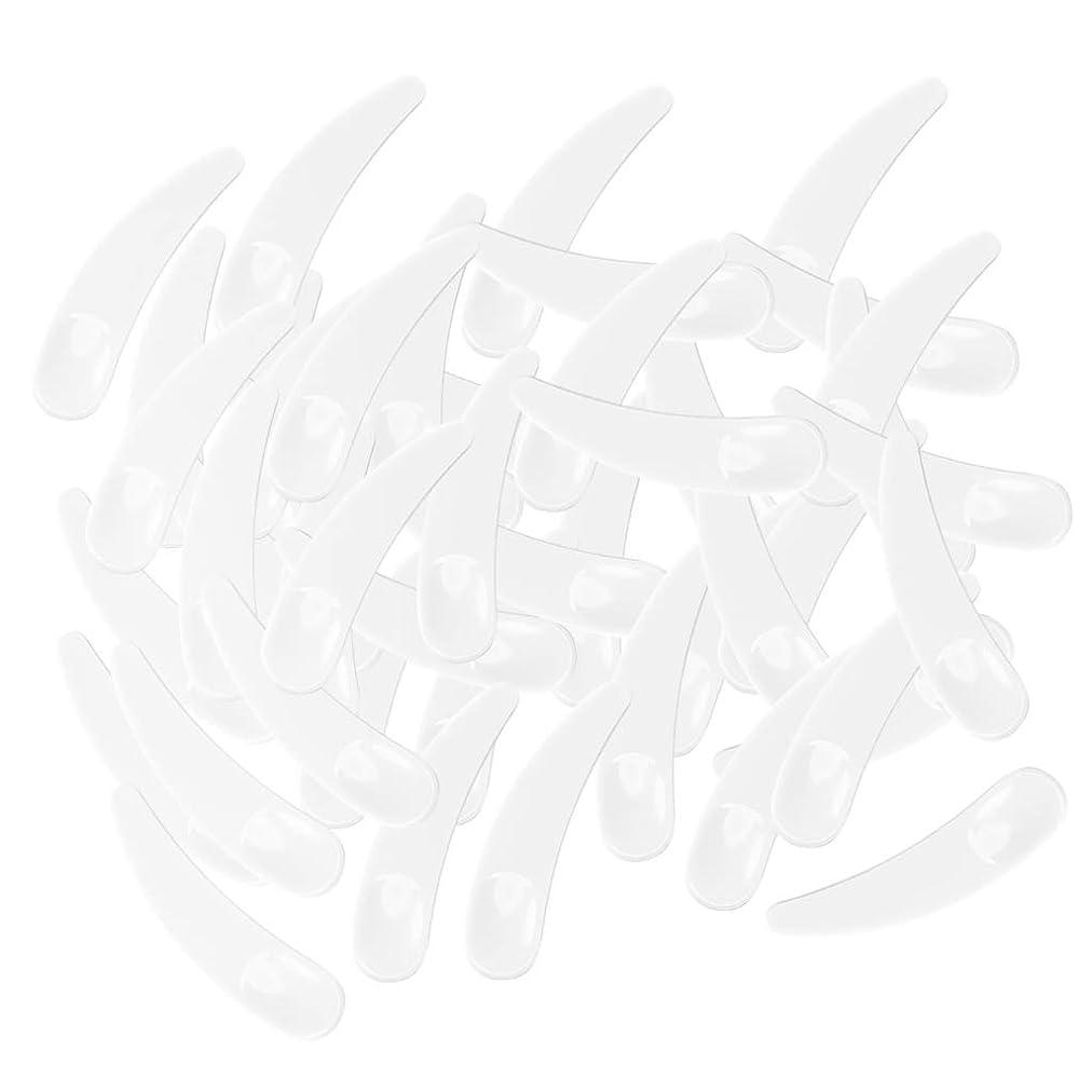 報告書も満州gazechimp 5色選ぶ ミニ 化粧品へら ミキシングスティック スプーン - ホワイト
