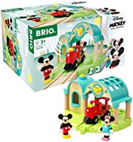 Brio 32270 Disney Mickey and Friends: Mickey Mouse Record & Play Station | Wooden Toy Train Set for Kids Age 3 and Up -...