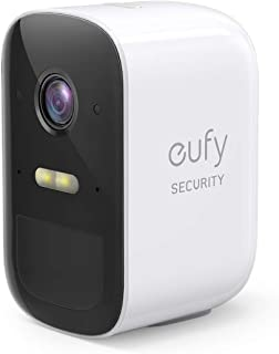 eufy Security eufyCam 2C Wireless Home Security Add-on Camera, Requires HomeBase 2, 180-Day Battery Life, HD 1080p, No Mon...