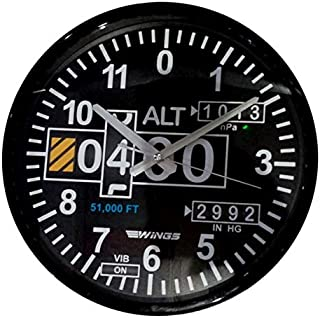 Altimeter Design Wall clock, Fighter gifts