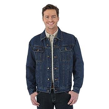 Wrangler Men s Rugged Wear Flannel Lined Jacket Antique Navy X-Large