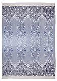 Bassetti Plaid Wolle - Moreta V7 - Größe: 145 x 180 cm - Farbe: Grau