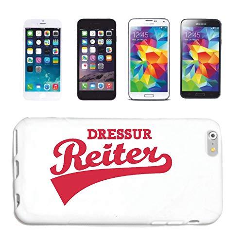 Bandenmarkt telefoonhoes compatibel met iPhone 4 / 4S Dressur REITEN paardensport dressure paarden ruiter hardcase beschermhoes mobiele telefoon cover Smart Cover