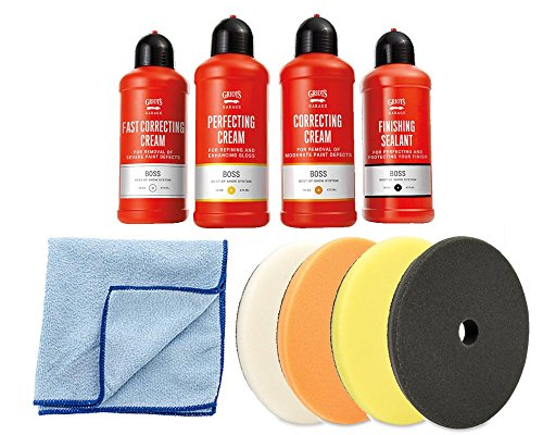 Griot's Garage Complete Cream & Pads Kit