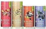 4x STARK Protein Porridge & Müsli Probierpaket   ohne Zuckerzusatz & Bio   bis 31% Protein