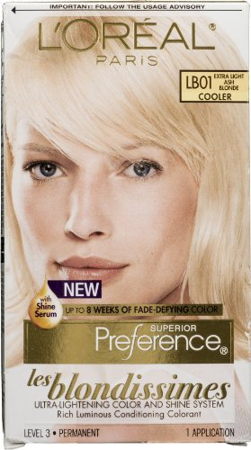 L'Oreal Superior Preference Les Blondissimes - LB01 Extra Light Ash Blonde 1 Each (Pack of 4)