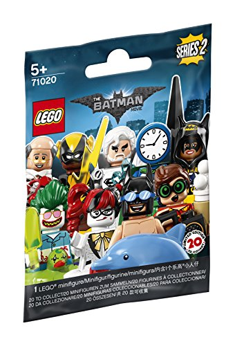 LEGO Minifigures - The LEGO Batman Movie - Série 2 - Random Bag - 71020-0