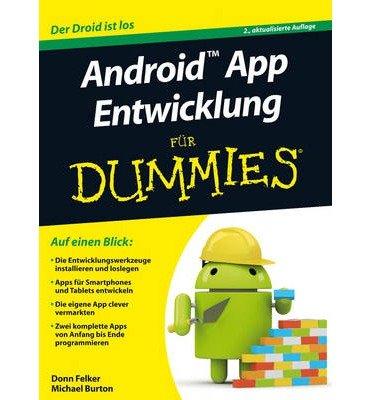 Android App Entwicklung Fur Dummies (Fur Dummies) (Paperback)(German) - Common