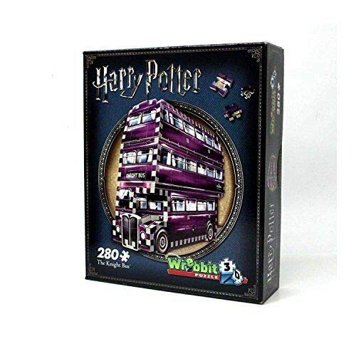 Kids Play Time Harry Potter The Knight Bus 3D Puzzle - 280 pieces
