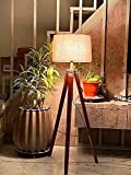 This NAUTICAL HOME DECOR adjustable tripod floor lamp is a perfect blend of rustic, traditional, and artistic flair which can easily fit with a wide range of interiors from modern, mid-century, contemporary architecture to vintage, urban and retro st...