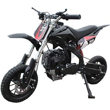 X-PRO 40cc Kids Mini Dirt Bike Pit Bike Dirt Bikes Gas Power Bike Off Road Motorcycle,Black