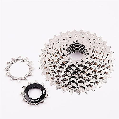 Bicicletta Flowwheel Freewheel. 7S 8S 9S 21S 24S 27S Acciaio Ampio Raggio di velocità MTB. Parti della Bicicletta Adatta per Mountain Bike, Biciclette da Strada (Size : 9 Speed)
