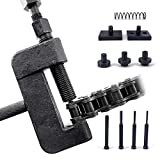 Thorstone 13pcs Chain Breaker Set,Chain Cutter and Riveter for Motorcycle, Bike, ATV