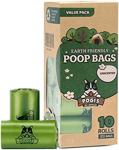 Pogi's Poop Bags – Large, Leak-Proof, Earth-Friendly Poop Bags for Dogs