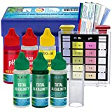 U.S. Pool Supply Premium 5-Way Swimming Pool & Spa Test Kit - Tests Water for pH, Chlorine, Bromine, Alkalinity and Acid Demand - Maintain Properly Balanced Chemical Levels, Algae Sanitizer Indicator
