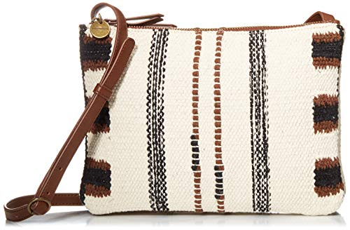 Lucky Brand womens Lina Crossbody Bag, Natural/Bran 102, One Size US