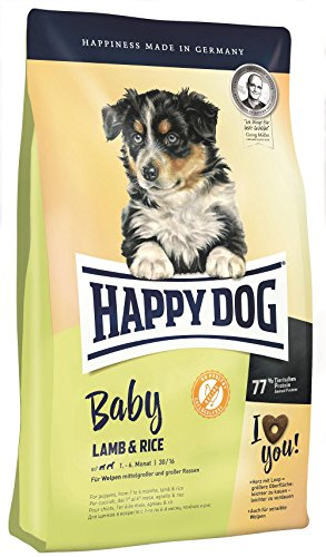 Happy Dog Supreme Young Baby Lamm & Reis, 4 kg