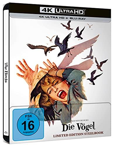 Die Vögel - Limited Steelbook (4K UHD) [Blu-ray]
