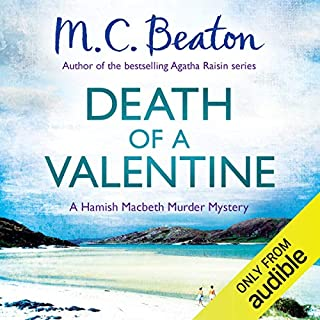 Death of a Valentine cover art