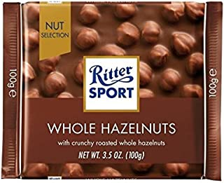 スポーツナット完璧ミルクWholenutの100グラム (Ritter) - Ritter Sport Nut Perfection Milk Wholenut 100g