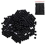 Goshfun 7MM 10000Pcs Water Bullets Beads, High Strength Hardended Crystal Bullet Balls for Water Blaster/Nerf CS Game - Black