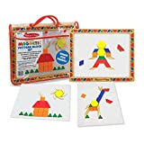 Melissa & Doug Deluxe Magnetic Pattern Blocks Set