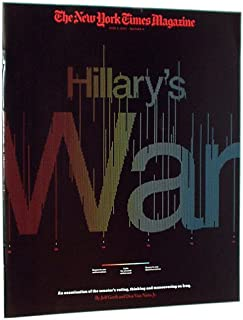 The New York Times Magazine, June 3, 2007: Hillary's War