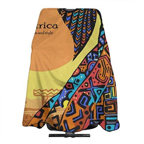Mantón de salón profesional delantal impermeable chal de corte de pelo delantal de corte de pelo chal