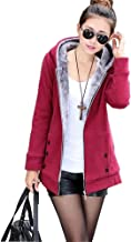 Leomodo New Fall and Winter Clothes Thick Velvet Hoodies Sweatshirt Woman Coats