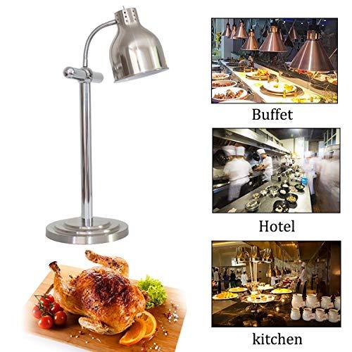 XER Voedsel Warmte Lamp, Enkele Hoofd Rechte Buis Verwarming Lamp, Commerciële Thuis Buffet Isolatie Lamp voor Restaurant Keuken