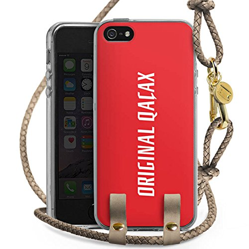 DeinDesign Apple iPhone SE Carry Case Hülle zum Umhängen Handyhülle mit Kette Xatar Fan Article Merchandise Fanartikel Merchandise