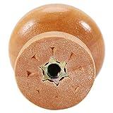 Mumusuki 10Pcs S/M/L Muebles de Seta Redondos de Madera Maciza Natural Tirador de la manija Gabinete de Cocina Armario Cajón Perilla de la Puerta(M 28mm)