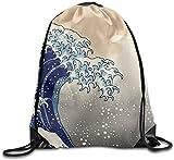 engzhoushi Turnbeutel,Sporttaschen,Schultasche Tropical Lightweight Drawstring Bag Sport Gym Backpack Gym Bag for Men and Women