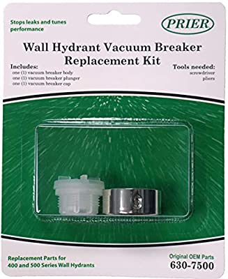 Prier 630-7500 Vacuum Breaker Service Parts Kit, Fits for series 400/500, Original Version