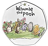 Winnie the Pooh 2021 COLOURED Authentic 50p Coin from the Royal Mint