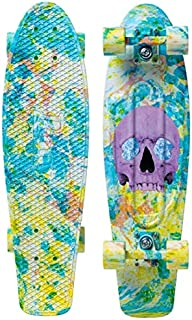 """Penny Skateboard(ペニースケートボード) PENNY GRAPHICS COMPLETE 27"""" 1NGR3 SKULL SPLATTER 全長27インチ(約69cm)、幅約19cm"""