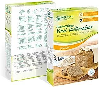 Glutenfreie Backmischung Vital-Vollkornbrot | 6x400gr | Hanneforth