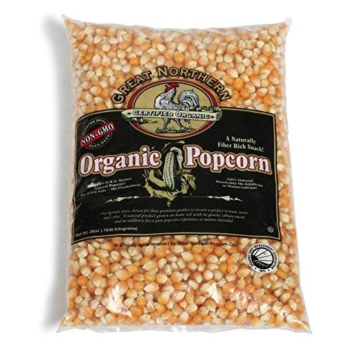 Great Northern Popcorn 4203 Organic Popcorn, 28 oz