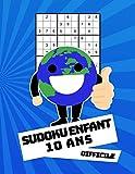 Sudoku Enfant 10 Ans Difficile: 100 puzzles avec des solutions   Pour les débutants 9x9