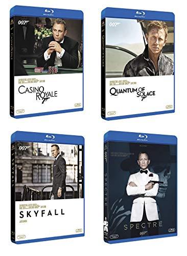 007 James Bond Daniel Craig Collection (4 film in Blu-ray) Edizione Italiana
