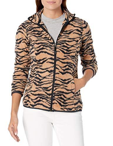 Amazon Essentials Women's Full-Zip Polar Fleece Jacket, Animal, S
