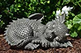 MystiCalls by Mayer Chess Gartendrache schläft- Garten, Figur, Drache, Niedlich