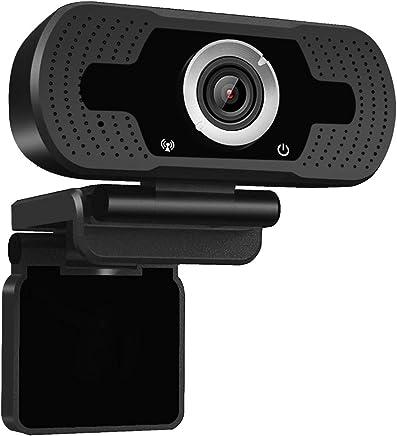 Dericam 720P HD Live Streaming Webcam, Webcam USB Desktop e Laptop, Mini Plug And Play Videocamera per videochiamate, Microfono Incorporato, Clip Girevole Flessibile, W1, Nero - Confronta prezzi
