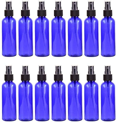 Beeria 14 Pcs Shading Spray Bottle 100ml Cosmetic Refill Container Encore Compliant Mist Spray Lotion Mistray Watering Bottle