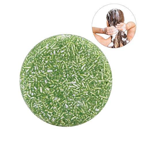 Shampooing solide, 100% pur shampooing biologique fait à la main Shampooing polyvalent pour le shampooing et le bain 60g